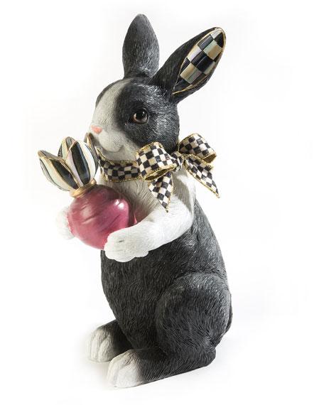Radish Rabbit Decor