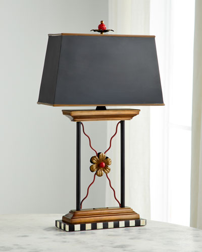Courtly Library Lamp