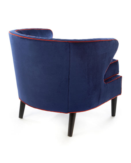 Marquee Midnight Accent Chair