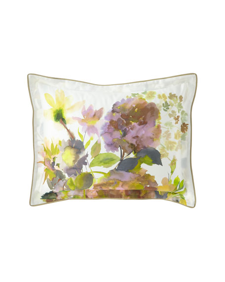 Designers Guild Palace Flower Birch King Sham