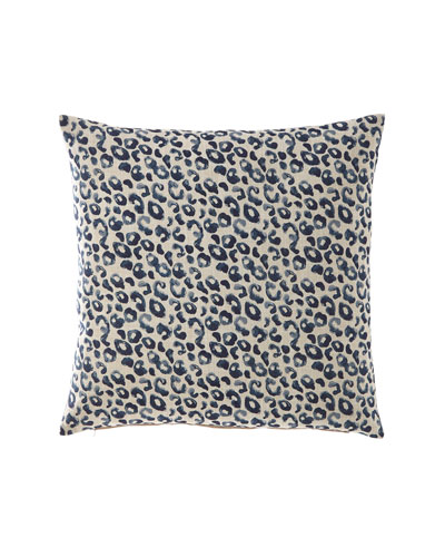 Stelmaria Indigo Decorative Pillow