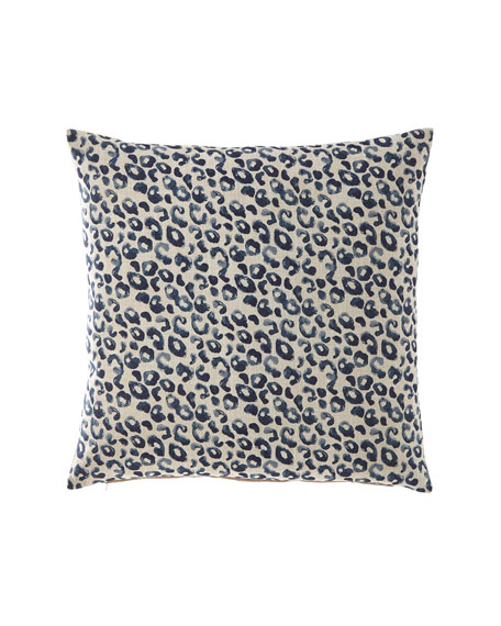 Stelmaria Indigo Decorative Pillow