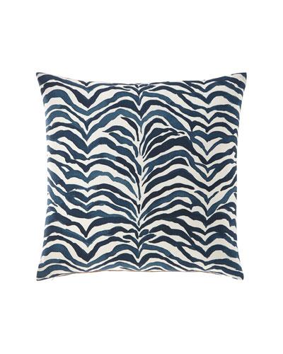 Shiva Navy Decorative Pillow