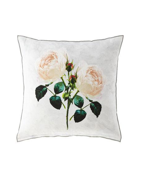 Tourangelle Peony Pillow