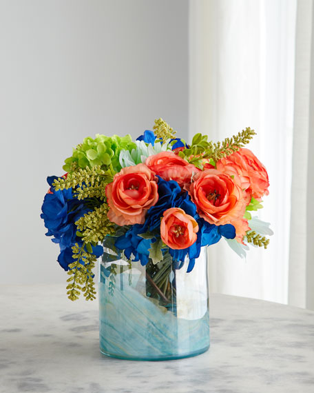 John-Richard Collection Sunrise Kaleidoscope Floral Arrangement
