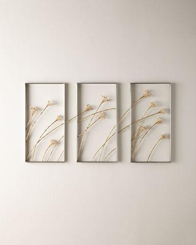 Windswept Triptych  Set of 3