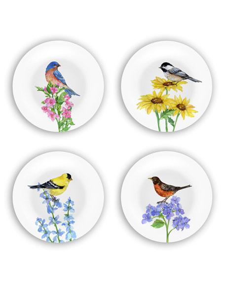 Birds Plates Gift Set