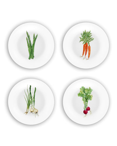 Veggies Plates Gift Set