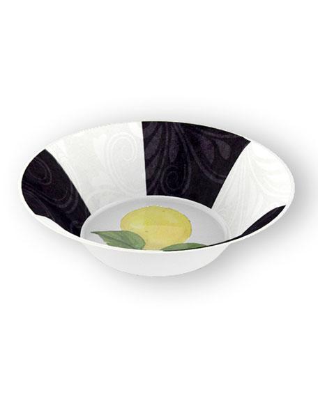 Lemon Branch Shatter-Resistant Bamboo Cereal Bowls, Set of 4