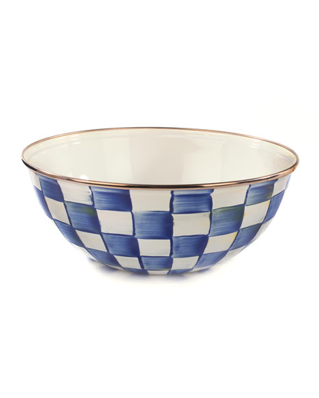 MacKenzie-Childs Royal Check Everyday Medium Bowl