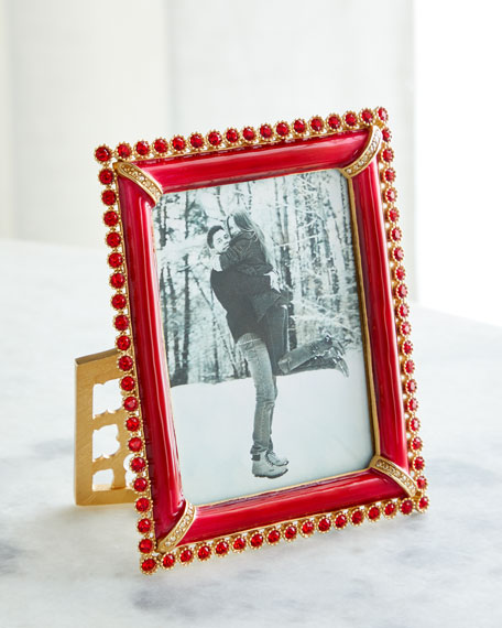 Jay Strongwater Stone Edge Picture Frame, 3