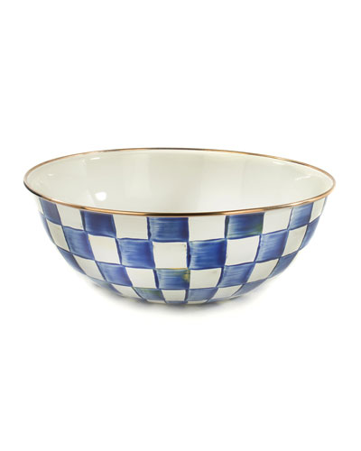 Royal Check Everyday Extra Large Bowl