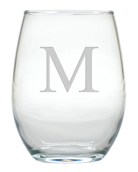 Stemless Wine Glasses, Set of 4