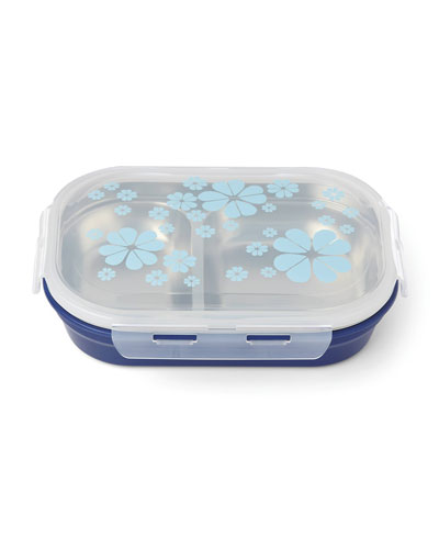 nolita blue spade lunch box