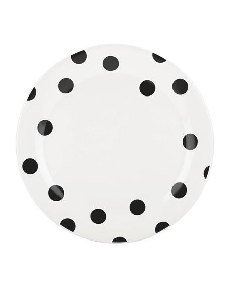 deco dot   dinner plate