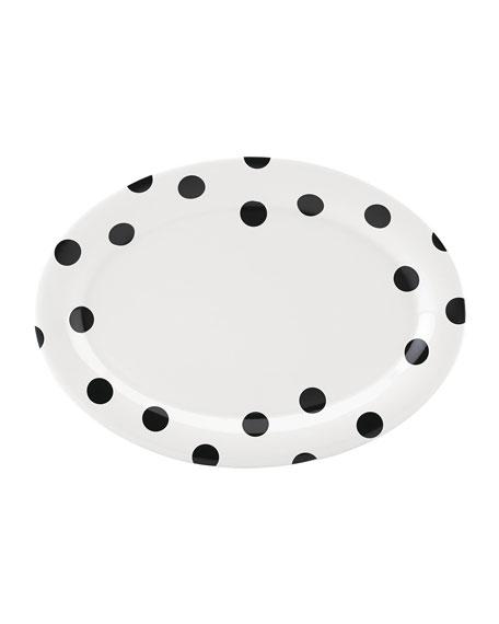 deco dot   platter 14.0