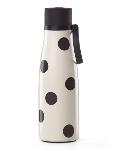 all in good taste deco dot water bottle