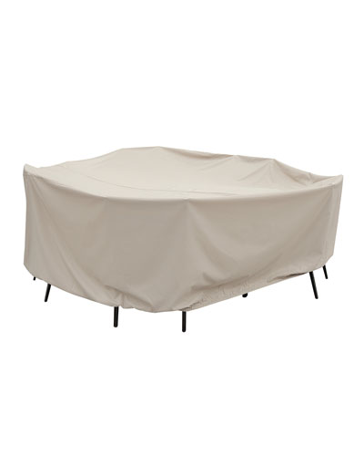 60 Round Table & Chairs Cover with Ties