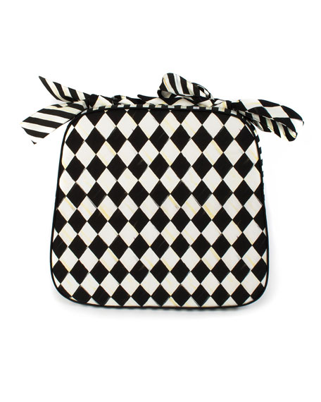 Courtly Harlequin Chair Cushion