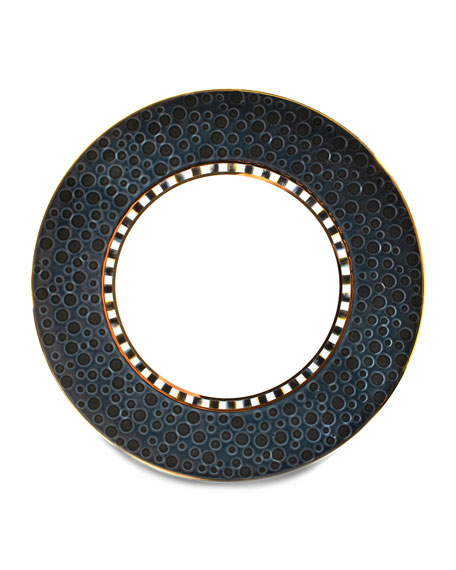 MacKenzie-Childs Soho Midnight Salad Plate