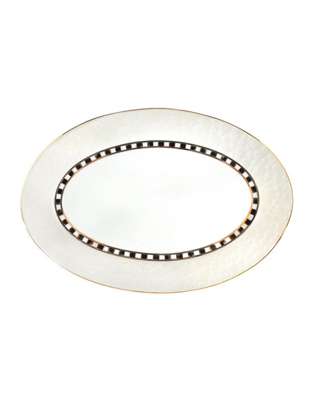 MacKenzie-Childs Soho Cloud Serving Platter