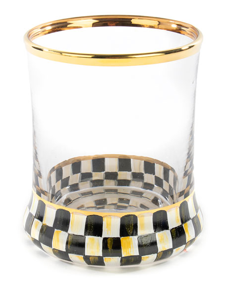 MacKenzie-Childs Courtly Check Tumbler