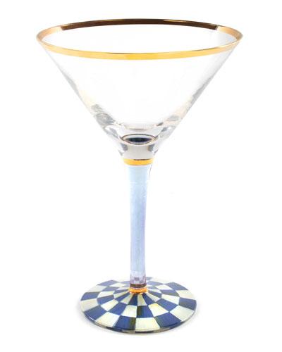 Royal Check Martini Glass