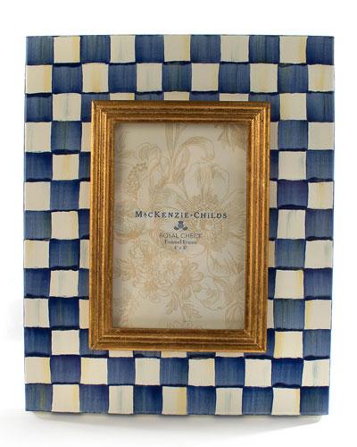 Royal Check Frame  4 x 6