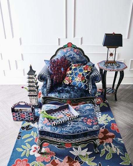 Bluetopia Kitano Pillow