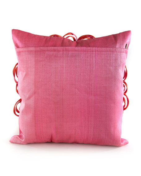 On The Avenue Super Pink Pillow