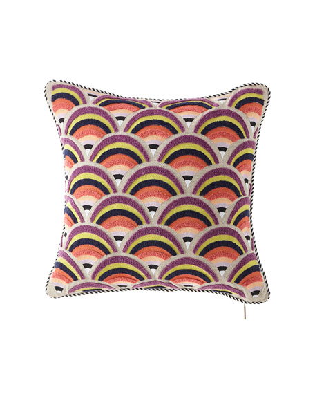 Sanibel Arches Outdoor Accent Pillow