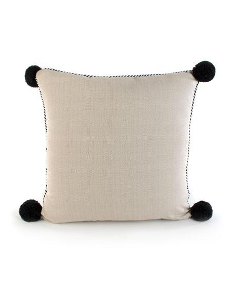 Zanzibar Leaf Outdoor Accent Pillow