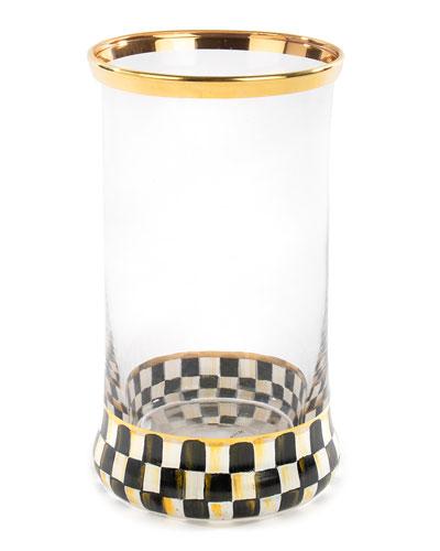 Courtly Check Highball Glass
