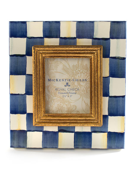 MacKenzie-Childs Royal Check Frame, 2.5