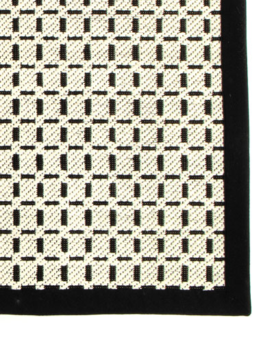 Bauhaus Check Rug  2' x 3'