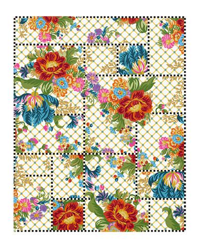 Flower Market Trellis Rug  8' x 10'