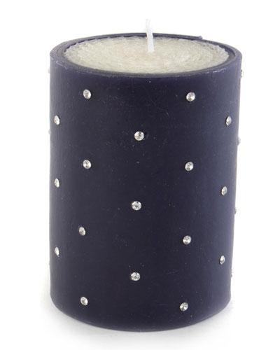 Small Diamond 4 Pillar Candle