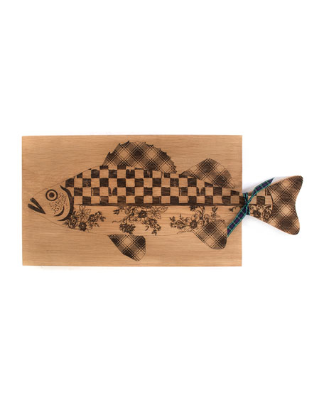 MacKenzie-Childs Fish Serving Board, Large