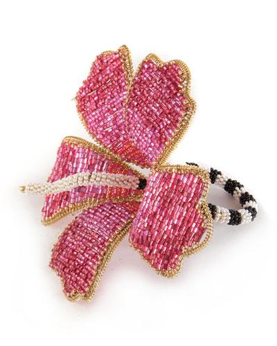 Hibiscus Napkin Ring