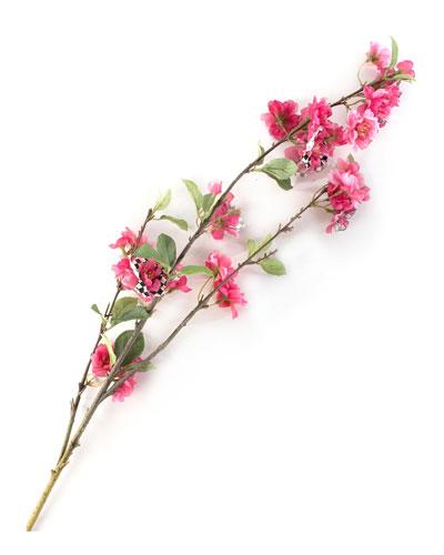Courtly Check Cherry Blossom Spray
