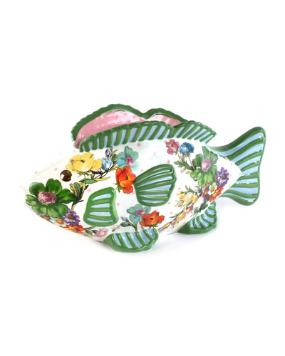 Flower Market Fish Planter