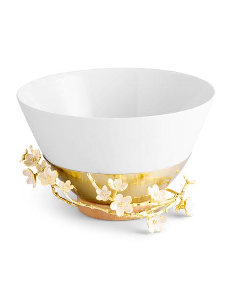 Michael Aram Cherry Blossom Porcelain Serving Bowl