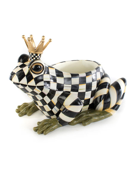 MacKenzie-Childs Fergal The Frog Planter