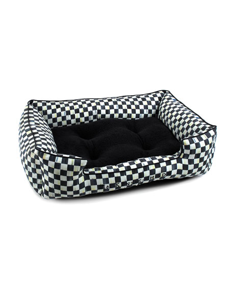 MacKenzie-Childs Courtly Check Lulu Medium Pet Bed