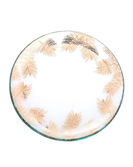 Annieglass Fir Small Plate
