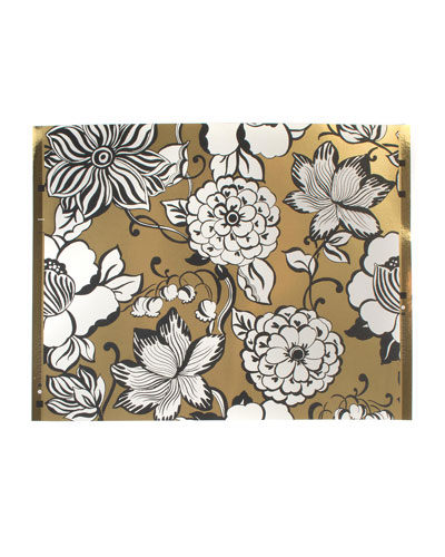 Avant-Garden Gold Large Wallpaper