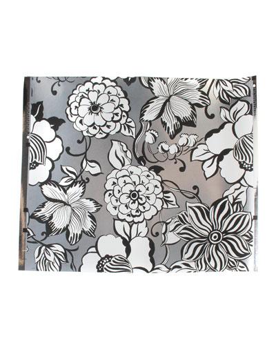 Avant-Garden Silver Large Wallpaper