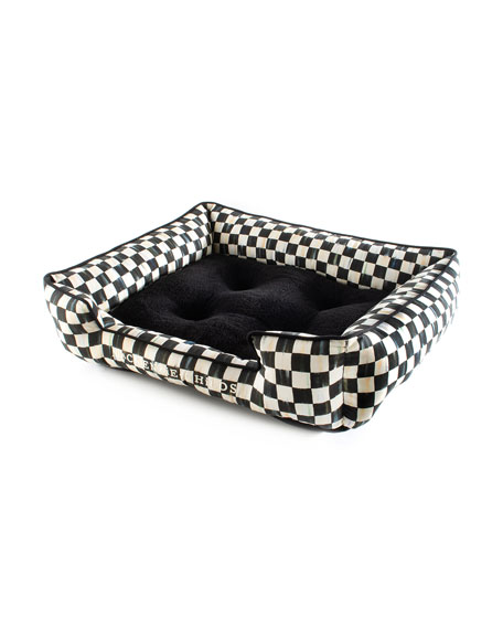 MacKenzie-Childs Courtly Check Lulu Small Pet Bed