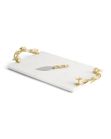 Michael Aram Cherry Blossom Large Cheese Board with