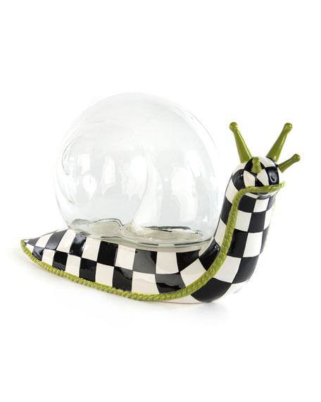 MacKenzie-Childs Snail Terrarium